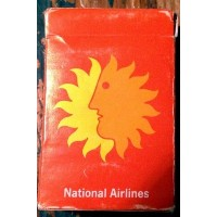 National Airlines Vintage Playing Cards