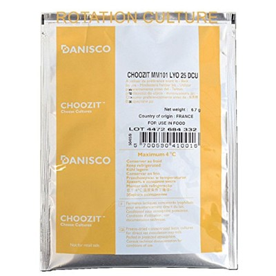 MM101 Mesophilic Culture 25 DCU Direct Set Cheese Cultures