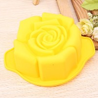 Bakeware & Accessories–ローズ形状シリコンケーキ金型Baking Pan Mould–ColoredフォームカビRoseate Physique Chromatic条件M...