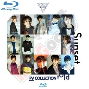 【SEVENTEEN】セブンティーン ★Blu-ray★ PV Collection/Thanks/Clap/Very nice/dont Wanna Cry/K-POPDVD / 韓流 DVD