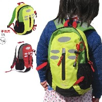 MaxFred キッズ リュック RUCKSACK MINI KIDS 12L Type1 イエロー×グリーン AN321 子供用 バックパック バッグ 【C1】【w57】
