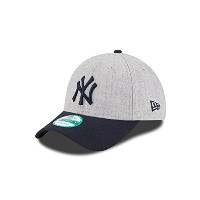 MLB キャップ リーグヘザー 9Forty 調節可能 One Size グレイ