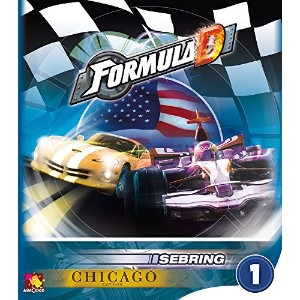 フォーミュラD (Formula D: Expansion 1 – Sebring and Chicago) ボードゲーム
