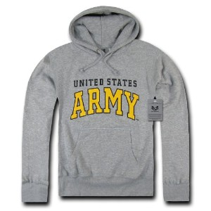 Rapid Dominance S46-ARM-HGR-02 Pullover Hoodies, Army, Heather Grey, Medium