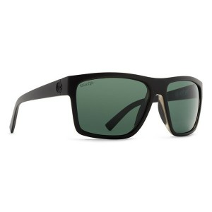 ボンジッパー メンズ メガネ・サングラス【Dipstick Sunglasses】Black Satin/ Wild Vintage Grey Polarized Lens