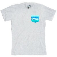 ネフ メンズ トップス Tシャツ【Castro Pocket T-Shirt】Athletic Heather