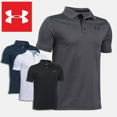 UNDER ARMOUR アンダーアーマー ジュニア 半袖 ポロシャツ ストレッチ Performance Polo Boys Golf Short Sleeve Shirt
