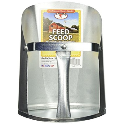 Little Giant 3-Quart Galvanized Feed Scoop by Little Giant Outdoor Living