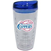 NBA Los Angeles Clippers 473ml Slimline Tumbler with Lid色