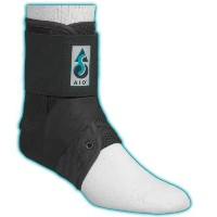 ASO Ankle Stabilizing Orthosis - Black - XX Large by ASO