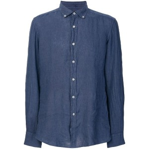 Fay casual button shirt - ブルー