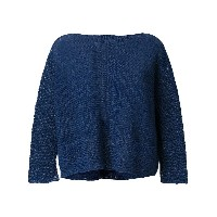 Daniela Gregis boat neck sweater - ブルー