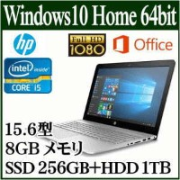 ★HP ENVY Notebook 15-as102TU ノートパソコンOffice Personal Premium プラス Y4F64PA-AAOI Windows 10 Home 64bit...