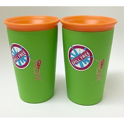 As Seen on TV Wow Cup, Spill-Proof Cup (Green) Size: Color: Green, Model: by Wow Gear
