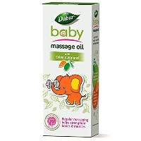 Dabur Baby Massage Oil with Olive and Almond - 200 ml