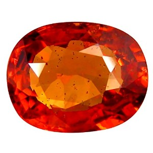 オレンジ色のサファイア ルーズジェームズ 1.07 ct PGTL CERTIFIED OVAL CUT (7 x 5 mm) CEYLON ORANGE SAPPHIRE