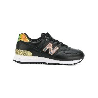 New Balance casual lace-up sneakers - ブラック