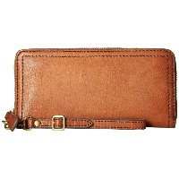 フライ レディース 財布【Claude Zip Wallet】Whiskey Pebbled Full Grain