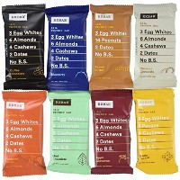 RxBar Real Food Protein Bars Variety Pack, 9 Flavors w/ NEW Maple Sea Salt (Pack of 18) by RXBAR