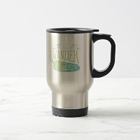 Zazzle Not All Who Wander Are Lostコーヒーマグ 15 oz, Travel/Commuter Mug b4992257-b35c-c0b5-ae5c...