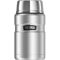 (Stainless Steel) - Thermos Stainless King 710ml Food Jar, Stainless Steel