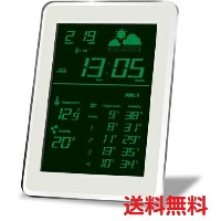 HOUSE USE PRODUCTS ハウスユーズプロダクツ LCD表示 電波置き掛け時計 AIR-CONDITION-CLOCK Dayton GREEN ACL079 送料無料