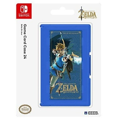 HORI Game Card Case 24 (Zelda Breath of the Wild Version) for Nintendo Switch Officially Licensed...