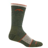 DARN TOUGH(ダーンタフ) Mens Boot Sock Full Cushion 1405 Olive Lサイズ