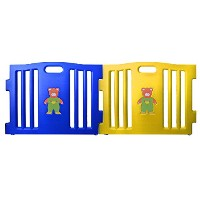 Baby Diego Cubzone Playard Panel Extension Set, Blue and Yellow by Baby Diego