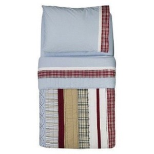 Aidan 4-pc. Toddler Bedding Set by Bacati [並行輸入品]