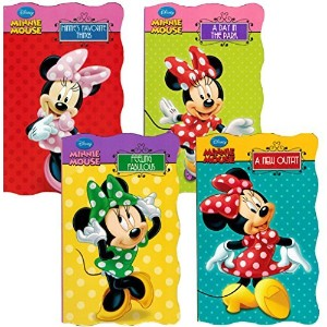 "Disneyツョ Minnie Mouse ""My First Books"" (Set of 4 Shaped Board Books) by Bendon Publishing [並行輸入品]"
