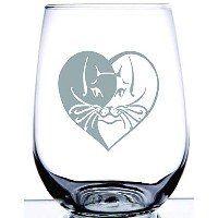 Cat Etched on Stemless