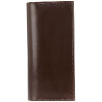 Whitehouse Cox long bifold wallet - ブラウン