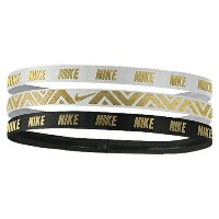 ナイキ women's レディース nike metallic headbands 3 pack womens スポーツ