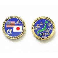 自衛隊グッズ 米軍challenge coin United States of America Bases in Japan