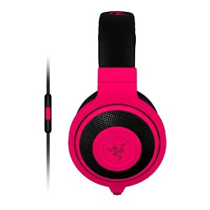 Razer Kraken Mobile Analog Music & Gaming Headset-Neon Red