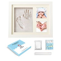 Baby Handprint Footprint Kit - Little Unicorn Baby Shower Keepsake Gift for Baby Girl and Boy