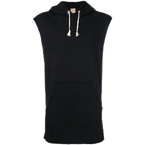 Champion sleeveless hoody - ブラック
