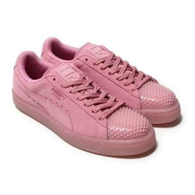 PUMA SUEDE JELLY WNS (プーマ スウェード ゼリー ウィメンズ) PRISM PINK-PRISM PINK【レディース スニーカー】17SS-I