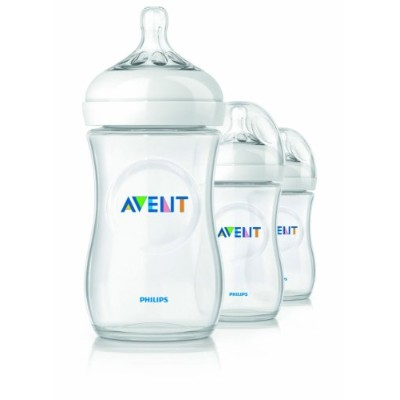 Philips AVENT BPA Free Natural Polypropylene Bottles 120ml 3本セット