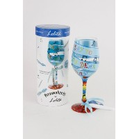 "ロリータ"" My Birthday Song ""ワインglass-15 Ounce ( c-gls11 – 5517d )"