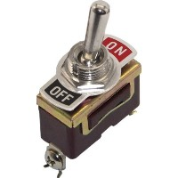 High Quality Toggle Switch On/Off (Brass)