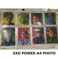 EXO POWER A4 Photo「SUM」