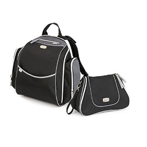 Chicco Urban Backpack and Dash Bag, Black by Chicco