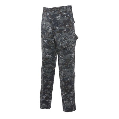 Tru - Spec Men 's Tactical Response CamoリップストップUniformパンツ – 1312 ブルー