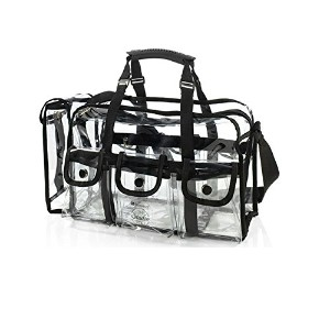 BH Cosmetics Studio Pro Large Set Bag Clear (並行輸入品)