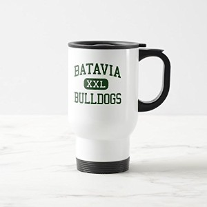 Zazzle Batavia – Bulldogs – High School – Batavia Ohio曇りガラスコーヒーマグ 15 oz, Travel/Commuter Mug...
