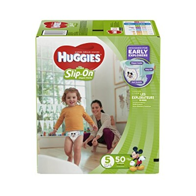 HUGGIES Little Movers Diaper Pants, Size 5, 50 Count by Huggies