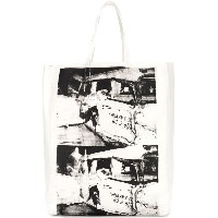 Calvin Klein 205W39nyc printed tote bag - ホワイト