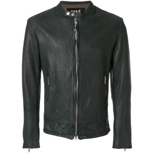 S.W.O.R.D 6.6.44 casual leather jacket - ブルー